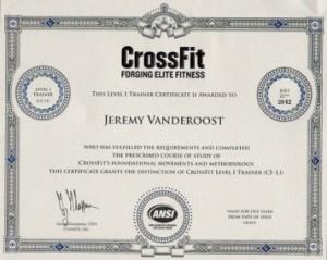CrossFit Diplome
