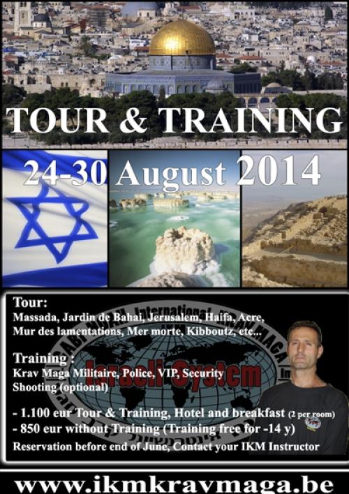 Tour & training 2014