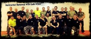Les instructeurs IKM Krav Maga Braine Waterloo Lasne participent tous les 3 mois à un renouvellement avec Gabi NOAH